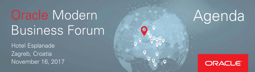 Oracle Modern Business Forum Zagreb