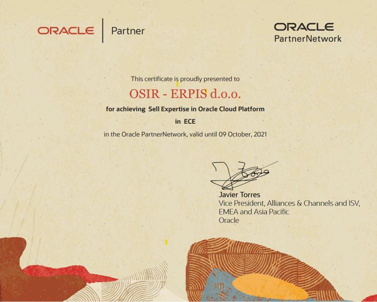 Oracle Cloud Platform Sales Expertise